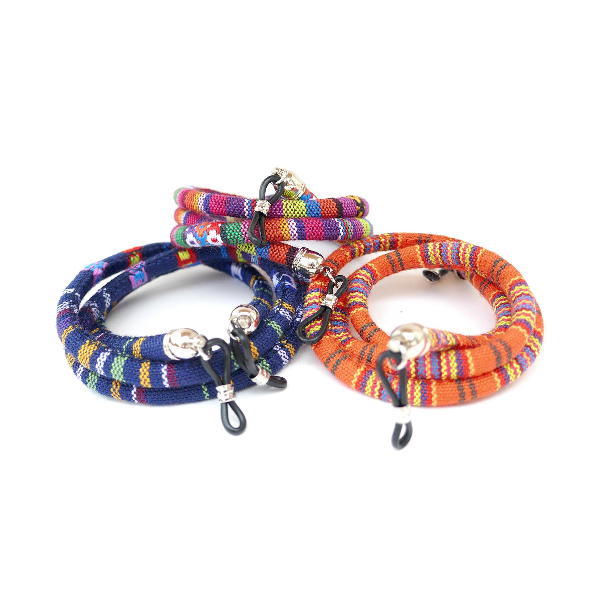 Tarifa Fashion Sunglasses Round Retainer Strap - Round Bundle