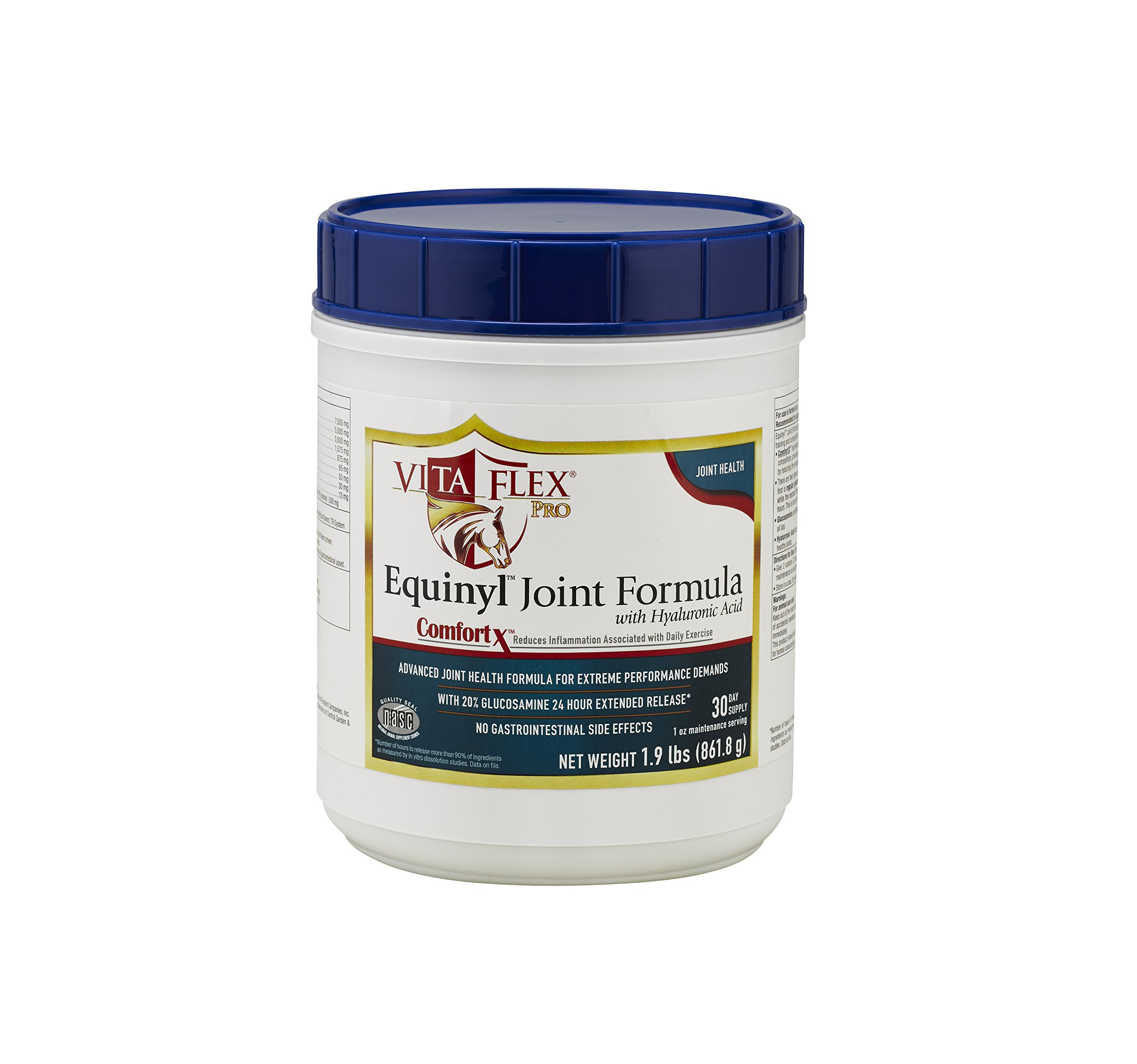 Vita Flex Pro Equinyl Joint Formula with Hyaluronic Acid, 60 Day Supply, 1.9 lb