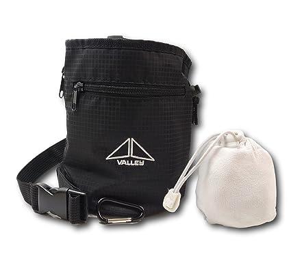 Amazon.com: Valley - Bolsa de tiza para escalada con bolas ...