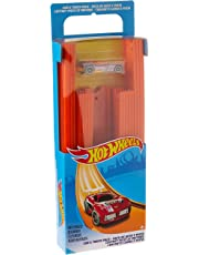 Hot Wheels Track Builder Straight Track with Car, 15 Feet - Styles May Vary