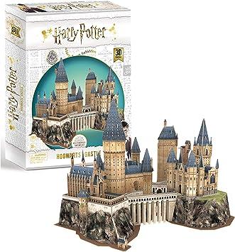 University Games 7565 Harry Potter Schloss Hogwarts 3d Puzzle Amazon De Spielzeug