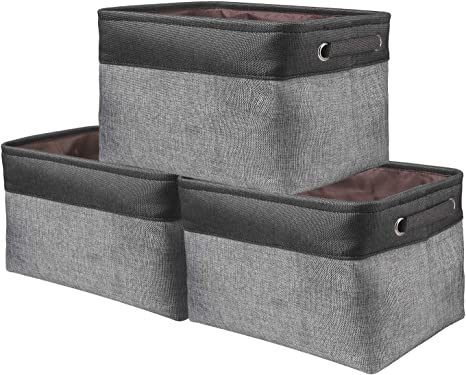 Foldable Storage Boxes Collapsible Canvas Box Clothes Toy Organizer Fabric Cubes