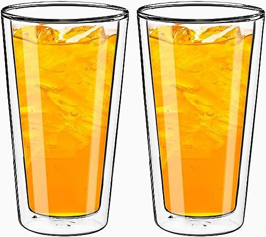 Amazon.com: Vasos de doble pared Style Setter – vasos ...