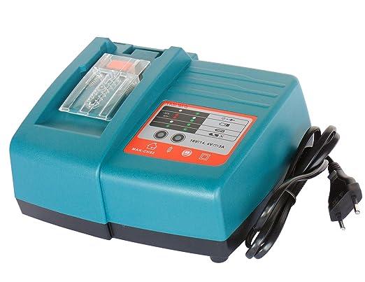 YASI MFG Cargador de repuesto 3 A para Makita batería BL1860 ...