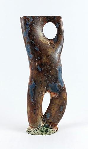 Escultura Decorativa En Ceramica Obra Unica Amazones Handmade - Escultura-decorativa