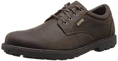 ec1973c9f5e6 Rockport Men s Storm Surge Water Proof Plain Toe Oxford Tan Oxford 6.5 W  (EE)