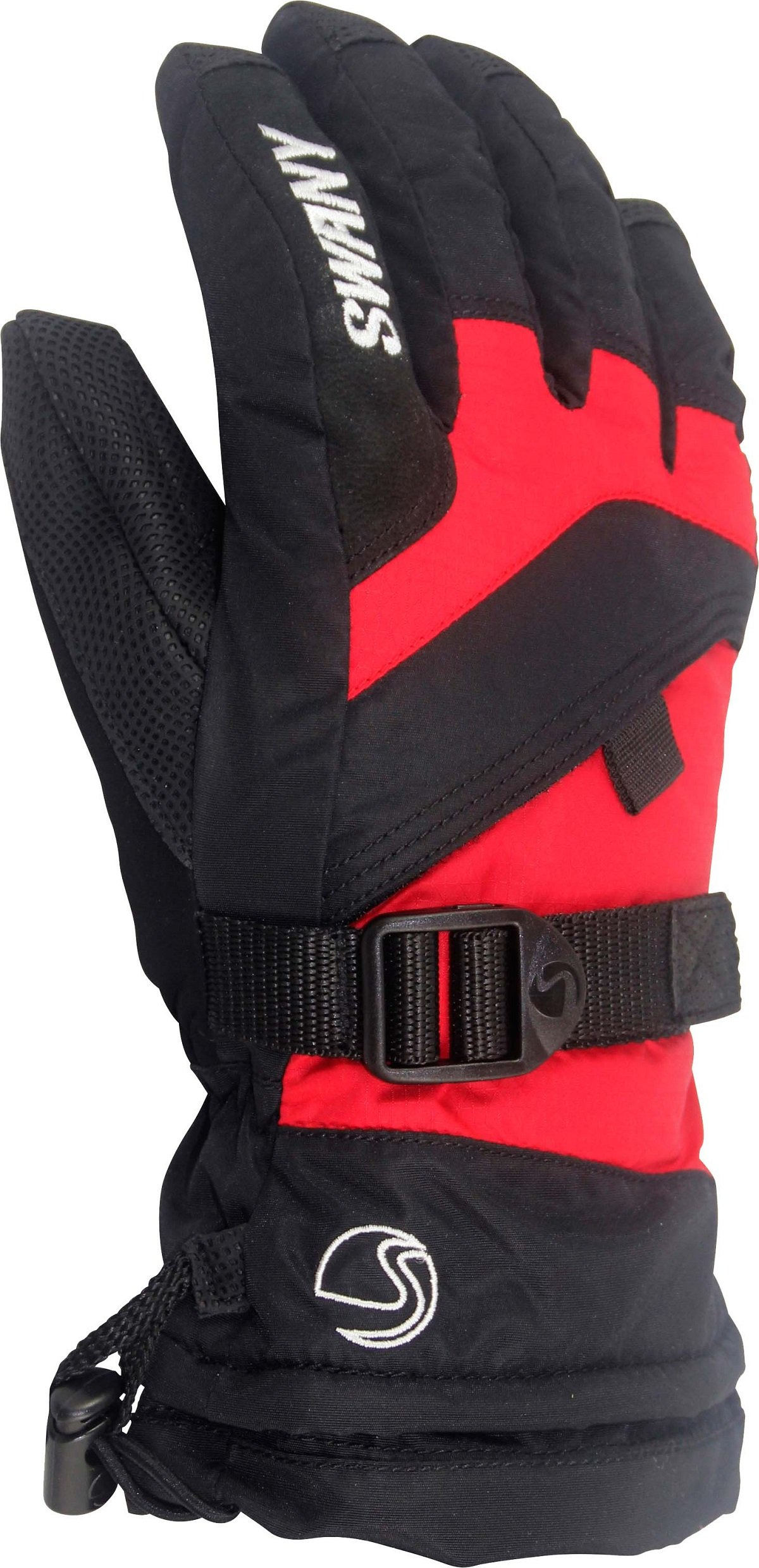 SWANY YOUTH X-OVER JR GLOVE LARGE BLACK/RED by SWANY