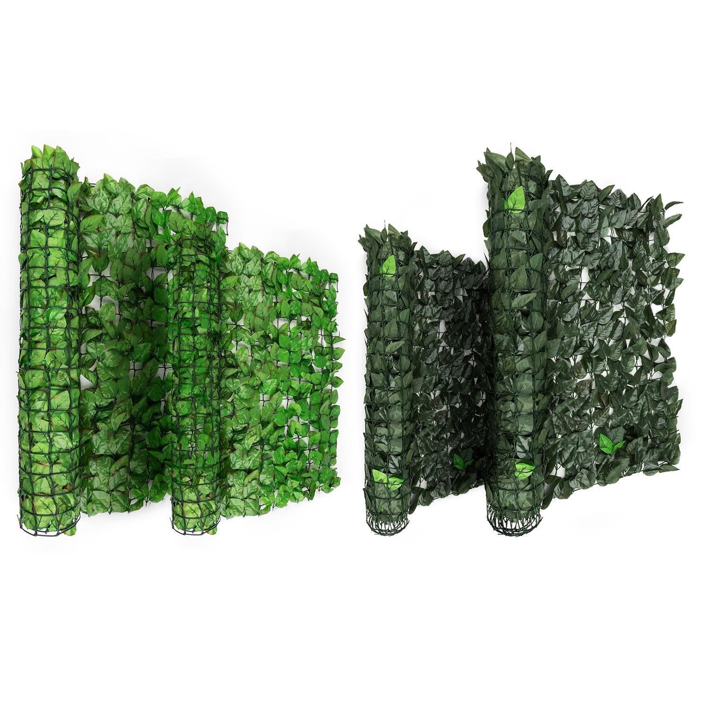 Blumfeldt Fency Dark Leaf • Sichtschutz • Windschutz • Lärmschutz