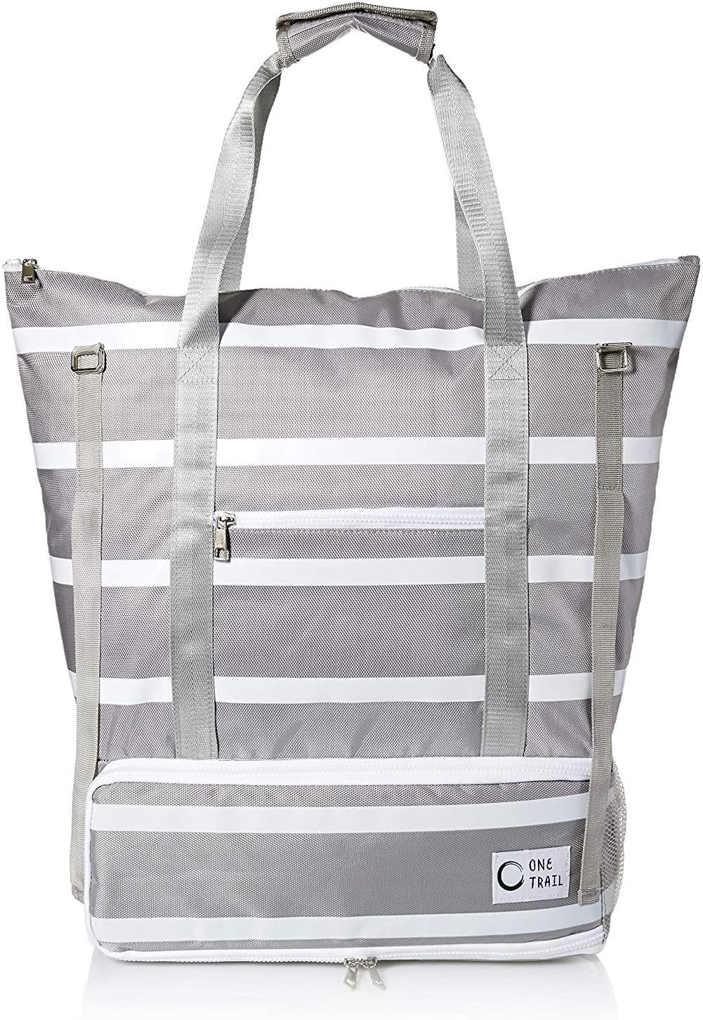 OneTrail Day-Tripper Cooler Tote   Hybrid Cooler and Tote Bag-in-One   Water Proof and Wipeable Exterior   Large Capacity…