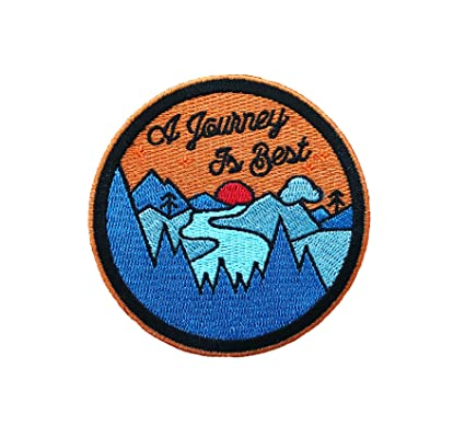 Vinpatch Journey is Best Embroidered Sew On Iron on Patch - Personalized  Travel Patches Designed 54d07e940