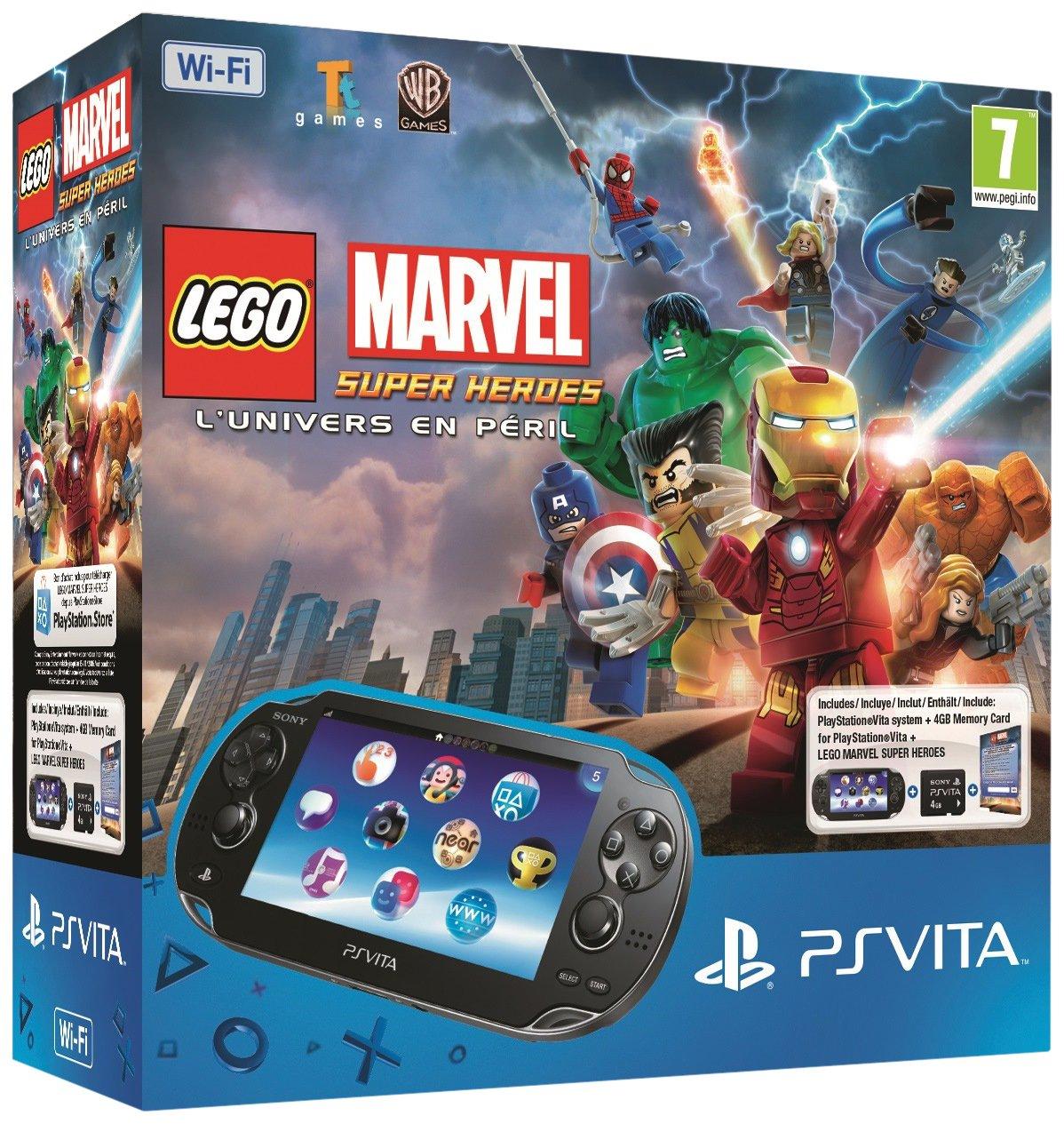 Console Playstation Vita Wifi + Jeu À Télécharger Légo ...