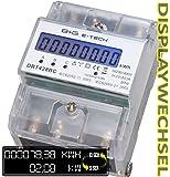 B+G E-Tech DRT428BC Compteur triphasé pour rail DIN avec affichage des watts 3 x 230/400V 20(80)A