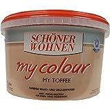 Schöner Wohnen Wandfarbe My Colour 5 Liter, Zarte Farben, Toffee Matt
