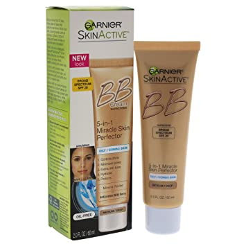 Garnier Skin Renew Miracle Skin Perfector Bb Cream Combination To Oily Skin