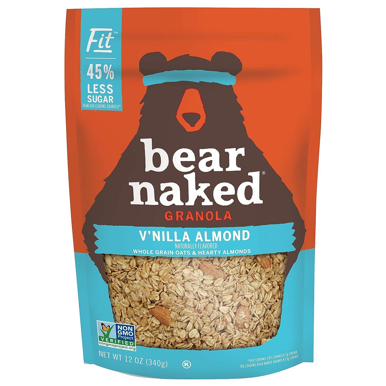 Bear Naked Fit, Granola, V'Nilla Almond, 12oz (6 Count)