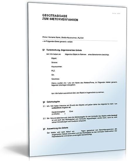Vorvertrag Zum Grundstuckskaufvertrag Muster