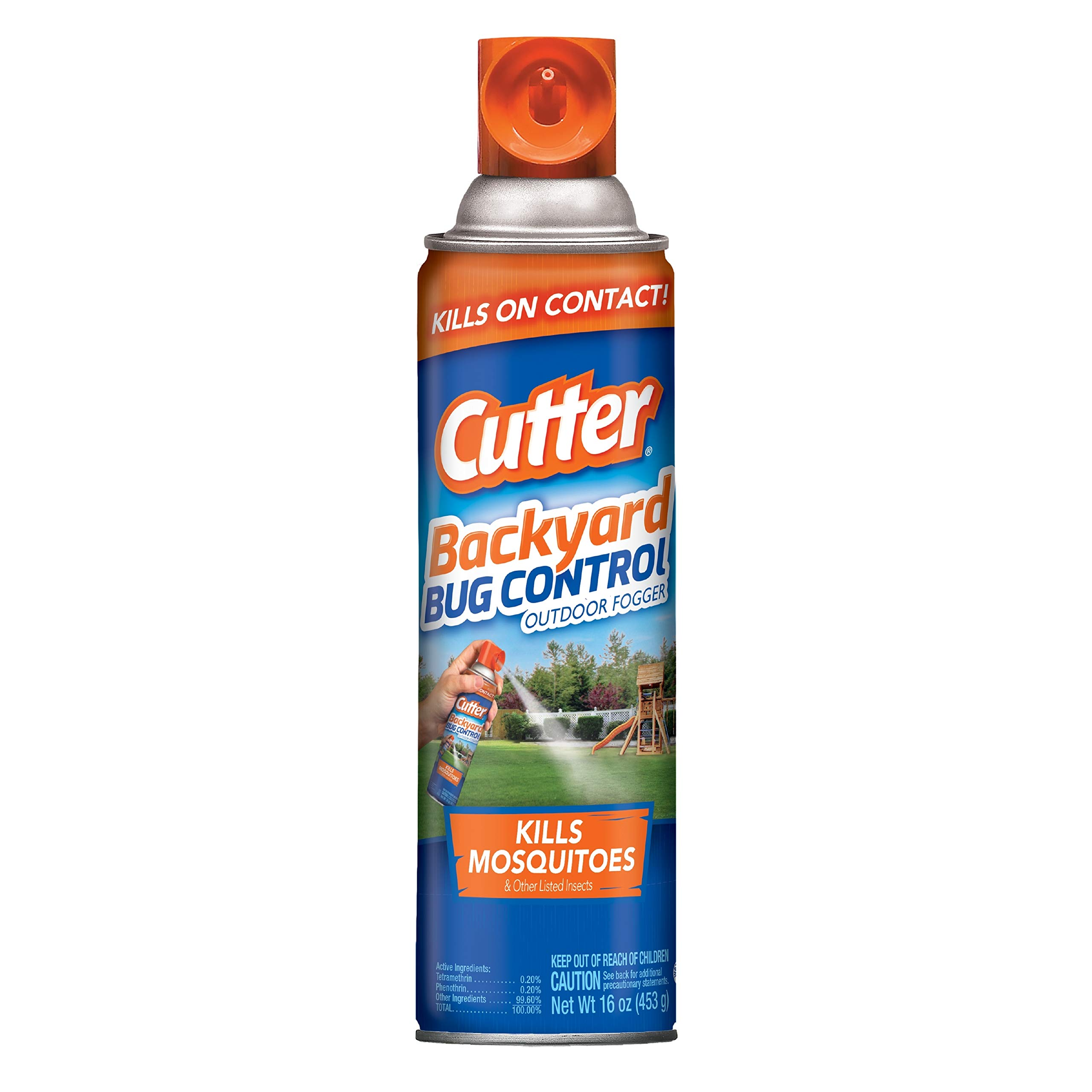 Cutter Backyard Bug Control Outdoor Fogger (HG-65704), Pack of 6 by Cutter
