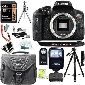 Amazon Com Canon Eos Rebel T6i 24 2 Mp Digital Slr Camera