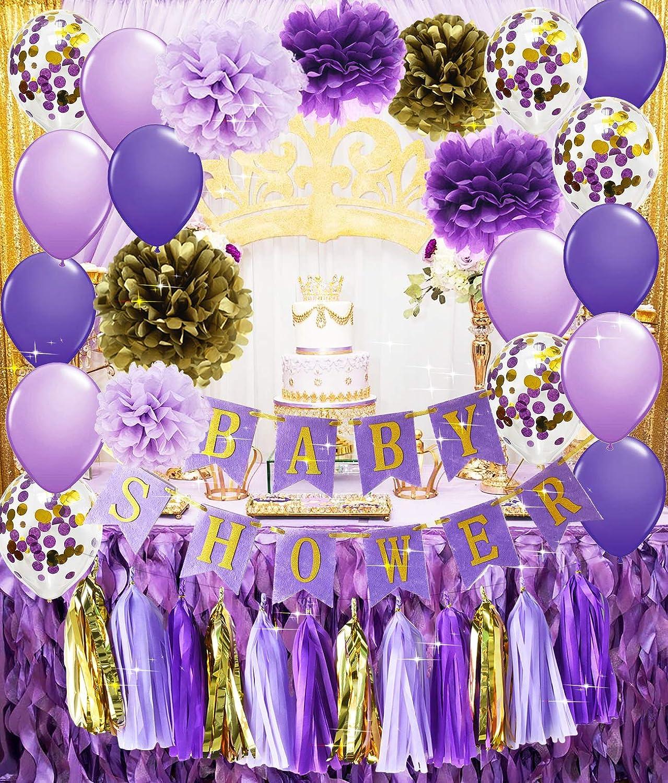 Amazon.com: Decoración para fiesta de cumpleaños de princesa ...