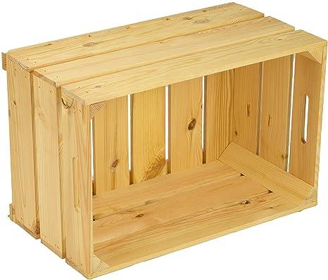 Juego de cajas de fruta, 3 unidades, robustas (54 x 35 x 30