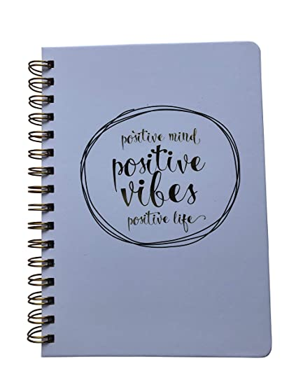 composition notebook positive vibes college ruled and 120 lined pages notebook
