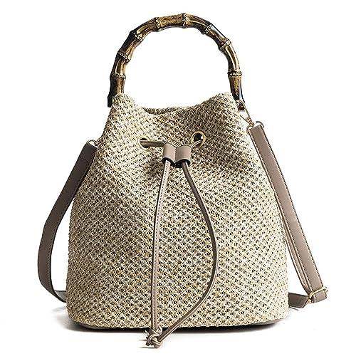 Amazon.com: Bolsas de playa con cuerda para mujer, bolsa de ...