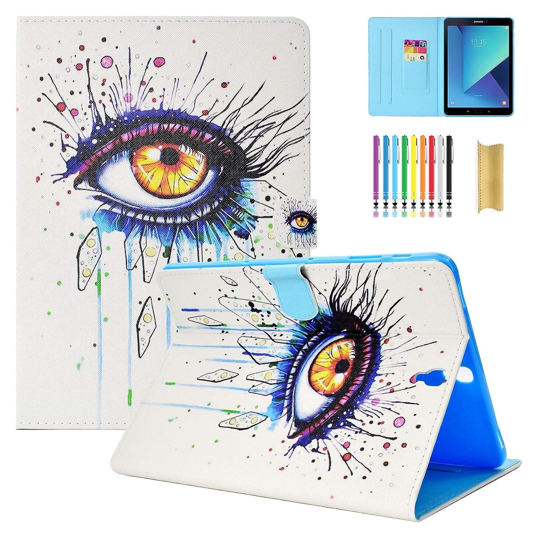 最新作 Dteck(TM) Galaxy 006 Eye Tab S3 9.7ケース T820ケース 二つ折りフリップカードホルダーカバースタンドスマートケース 自動ウェイク/スリープ機能付き Galaxy 保護シェルカバー Samsung Galaxy Tab S3 9.7インチSM-T820/T825用 006 Secret Eye B07KXRRBX5, エヌプランニング:14f54853 --- a0267596.xsph.ru