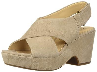 f697ece23c Clarks Women's Maritsa Lara Wedge Sandal, : Buy Online at Low Prices ...