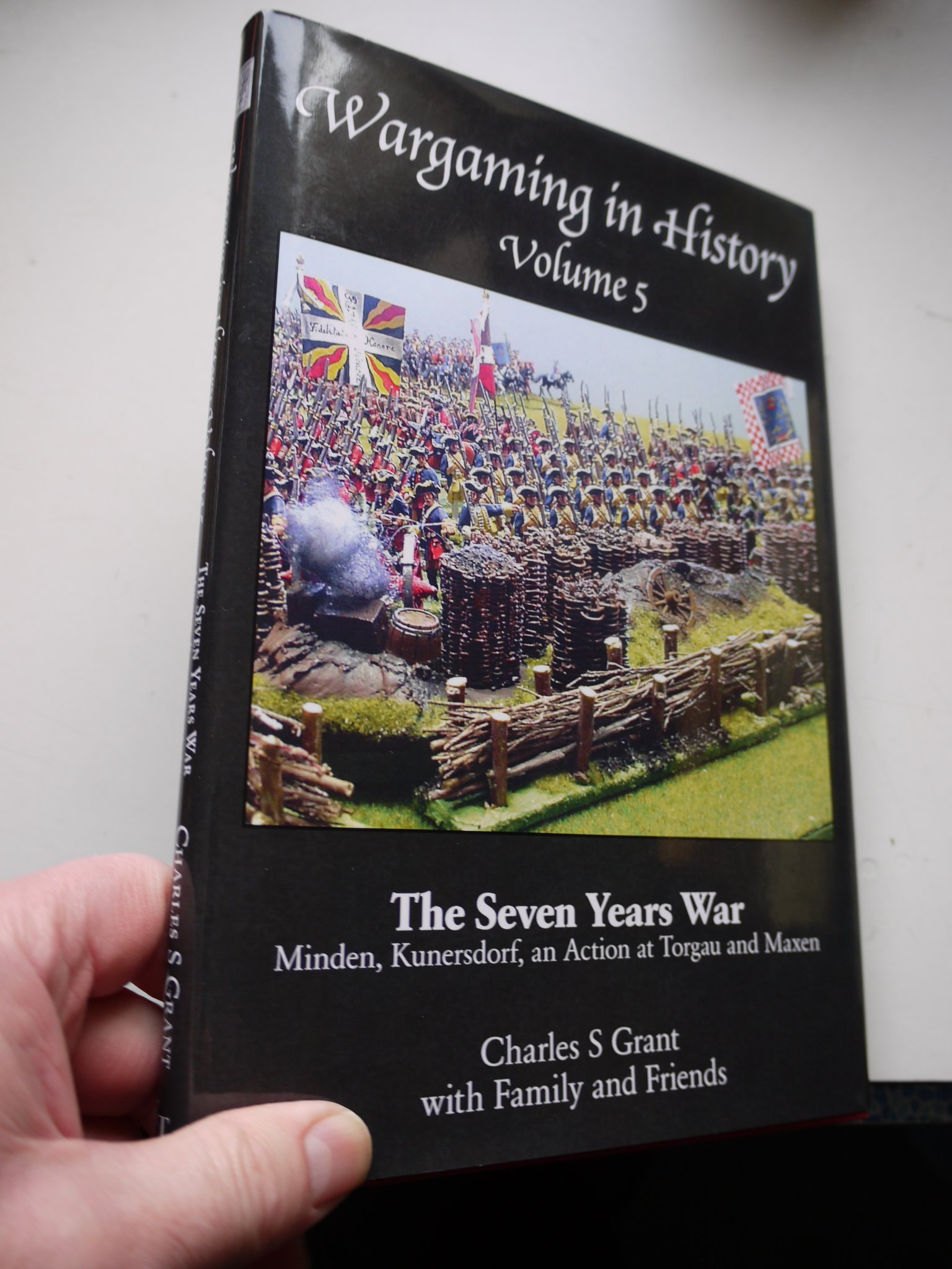 Wargaming in History: Volume 5: The Seven Years War - Minden, Kunersdorf, an Action at Torgau and Axen PDF