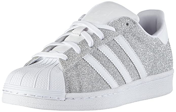 more photos ea71c ab239 adidas Damen Superstar Sneakers Silber Silver Met./FTWR ...