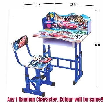 ratna international cartoon car printed study table for kids