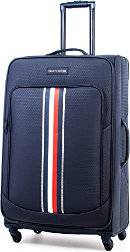 Tommy Hilfiger Global Pop Softside Expandable Spinner Luggage