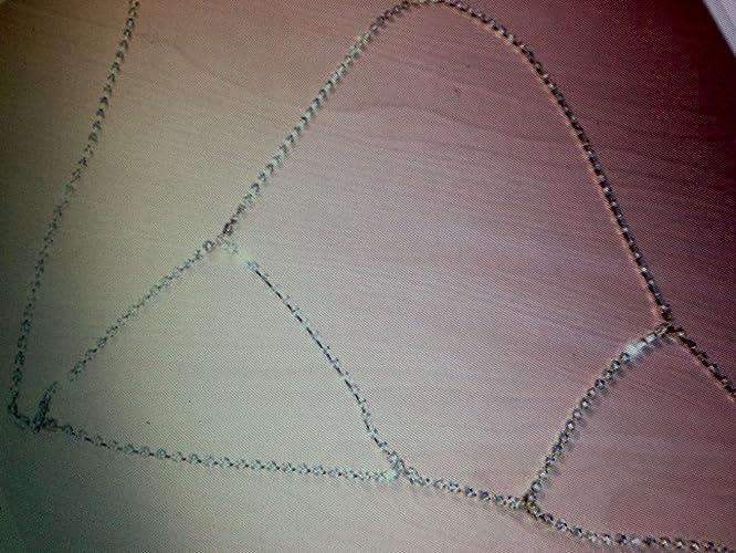 fc32797710a Amazon.com  Silver Crystal bra bralette diamond body chain body jewelry  necklace fashion 2017 rhinestone bra by custom jewelry  Handmade