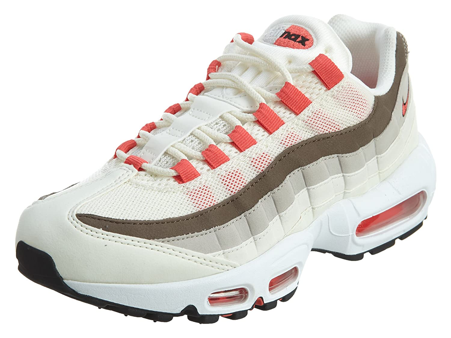 Nike Air Max 95 Womens Sail Ember Glow-phantom 11 B(M) US  Amazon.in  Shoes    Handbags 19dce537b