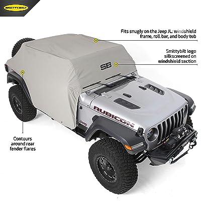 Smittybilt 1071 Cab Cover 2020-2020 Jeep JL 4 Door: Automotive