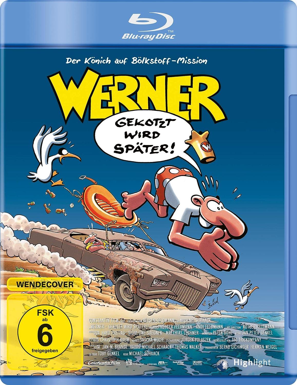 Amazon Com Werner Gekotzt Wird Spater Feldmann Rotger Genkel Jp Movies Tv