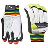 Puma, Cricket, Evospeed 6 Batting Gloves 2016, Small Boys, Lava Blast/Safety Yellow, Right Hand