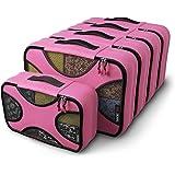 Shacke Pak - 5 Set Packing Cubes - Medium/Small ? Luggage Packing Travel Organizers (Precious Pink)