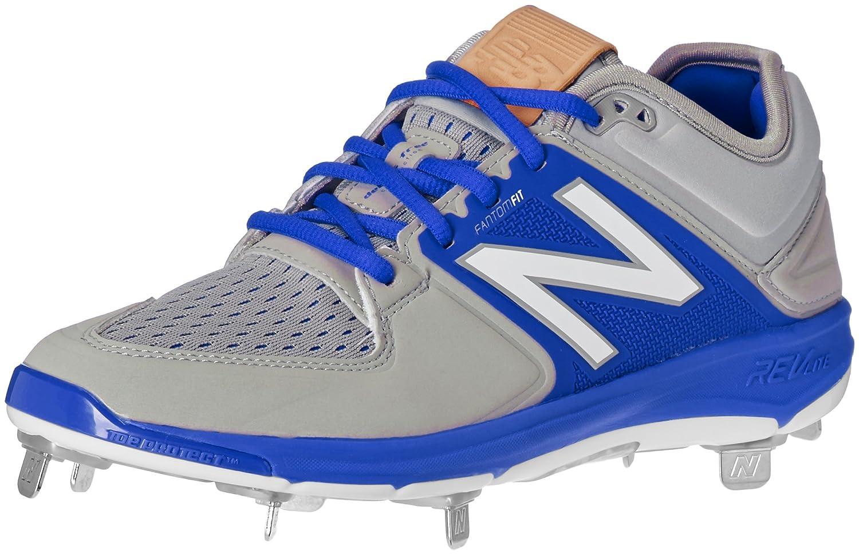 (ニューバランス) New Balance メンズ L3000v3 野球スパイクシューズ B01CQSVZ70 8 2E US|グレー/ブルー グレー/ブルー 8 2E US