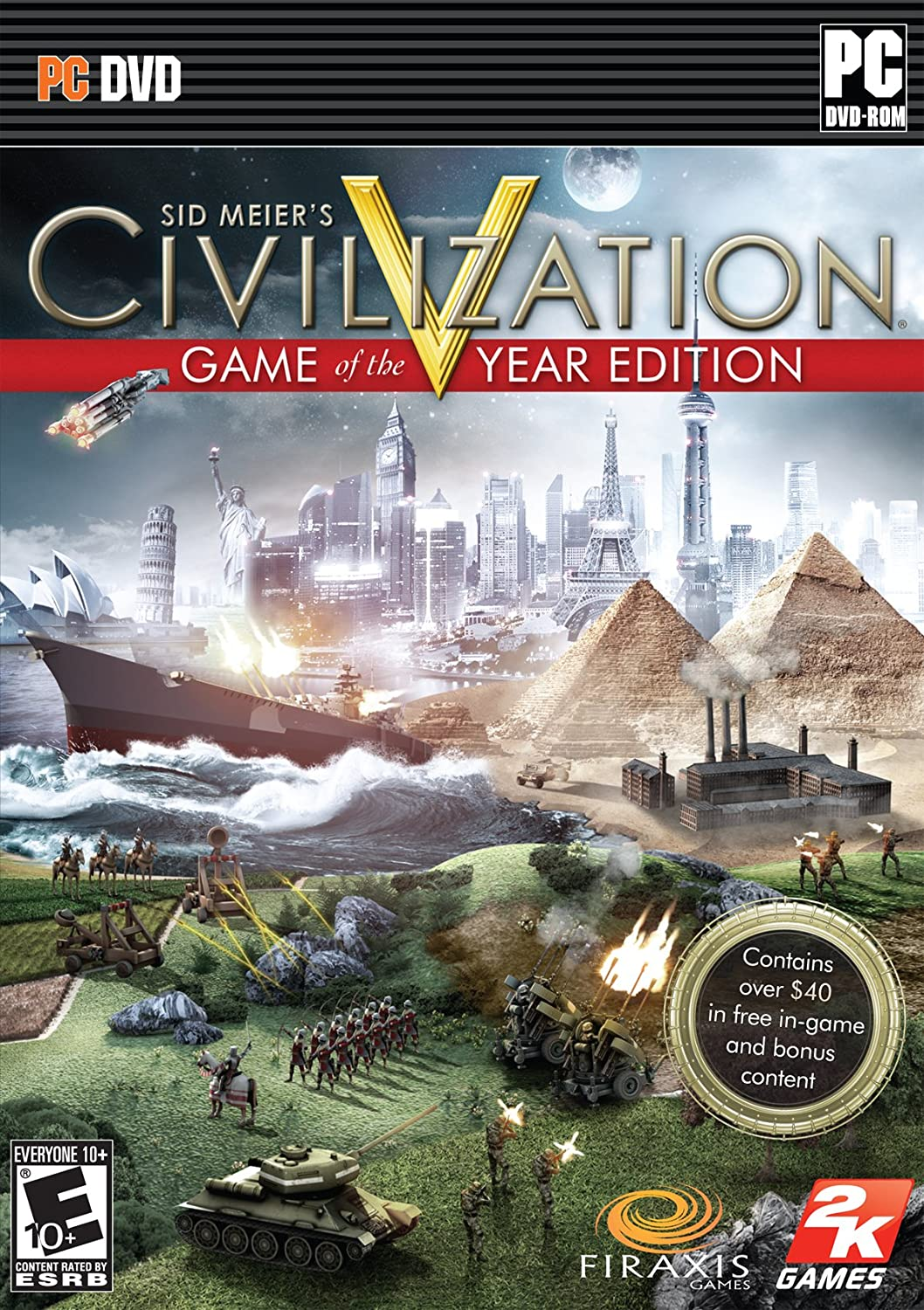 Amazon com: Sid Meier's Civilization V Game of the Year