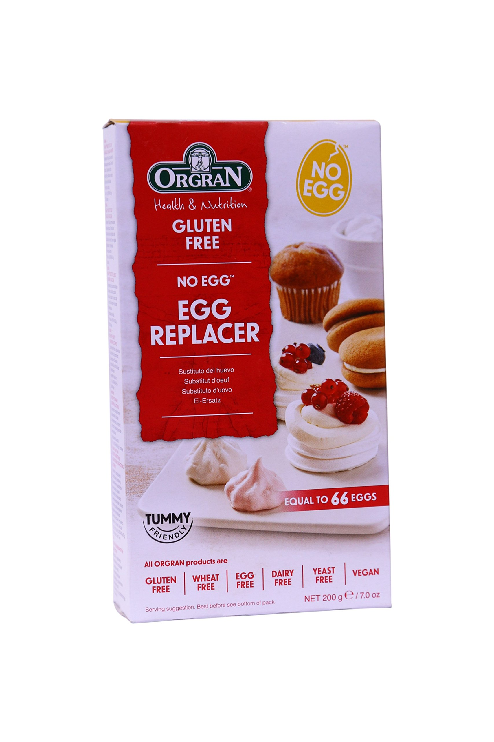 Orgran Egg Replacement, 7 Ounce
