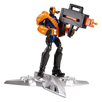 Batman Basic 4-Inch Sky Blade Deathstroke Figure: Toys & Games