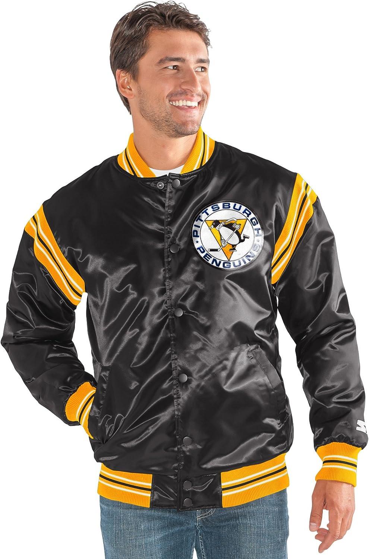 Starter NHL Mens The Enforcer Retro Satin Jacket