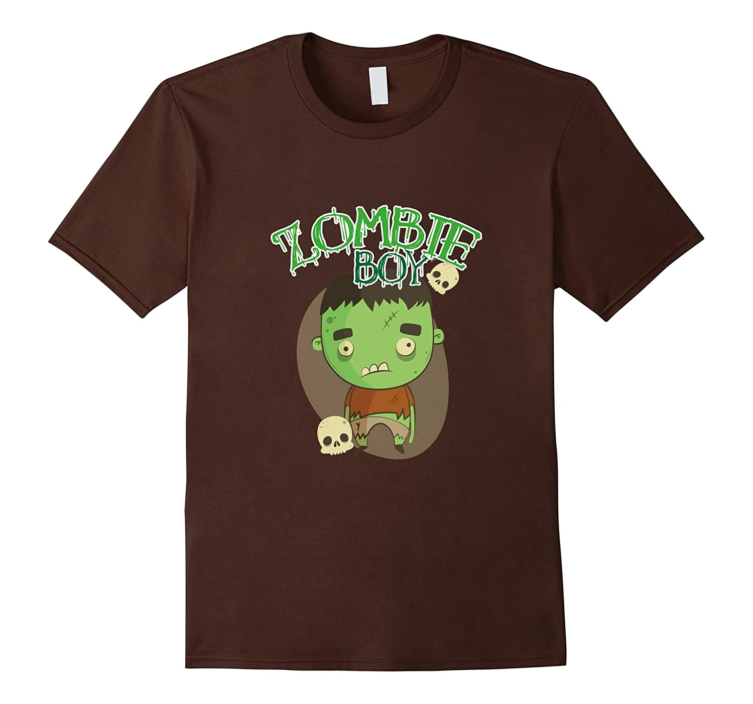 Zombie Halloween Gift Shirts For Boy-TJ