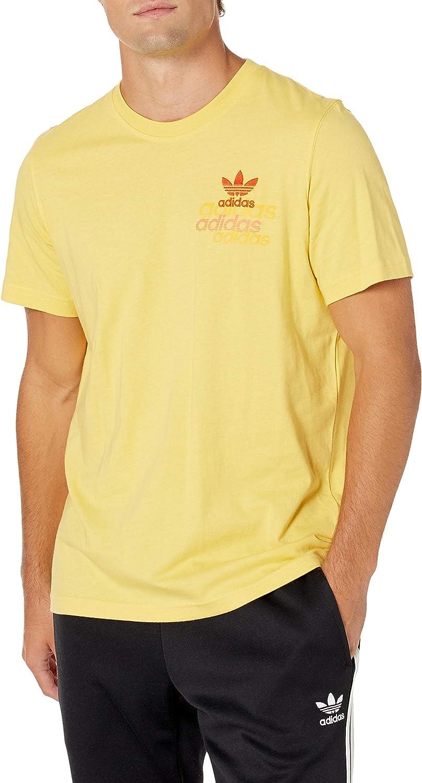 adidas Originals Men's Emblem store Shattered Washington Mall T-Shirt
