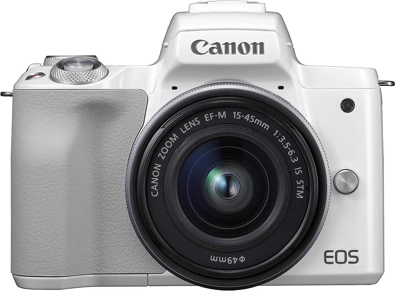 Canon EOS M50 - Kit de cámara EVIL de 24.1 MP con objetivo EF-M 15 ...