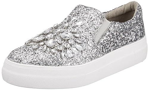 Buffalo 516-8963-3 Glitter, Zapatillas sin Cordones para Mujer: Amazon.es: Zapatos y complementos