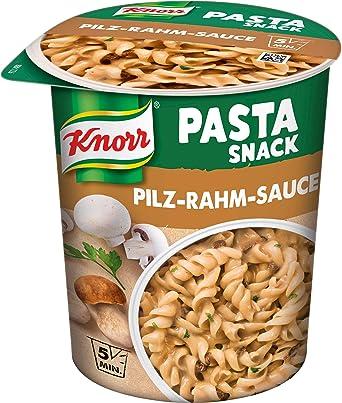 Knorr Snack Bar Pasta Snack Pilz-Rahm-Sauce 1 Portion (8 x 70 g)