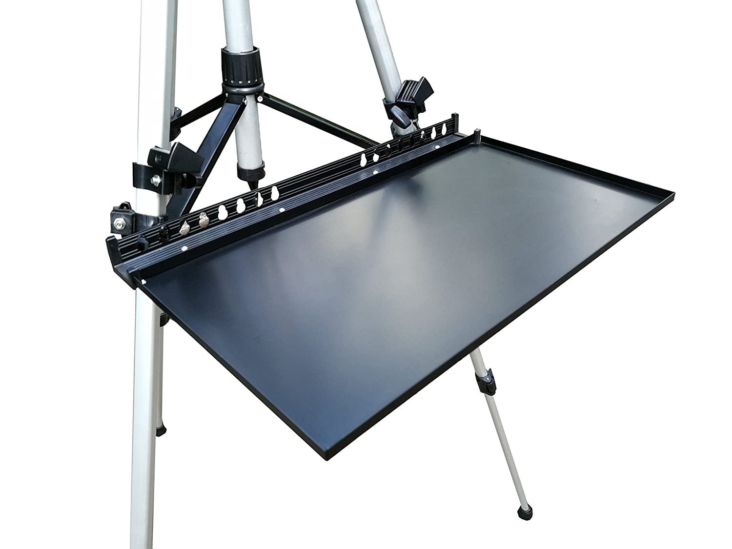 Black Tray Artist Aluminum Replacement Easel Tray Do4U Painting Easel Stand Replacement Easel Tray