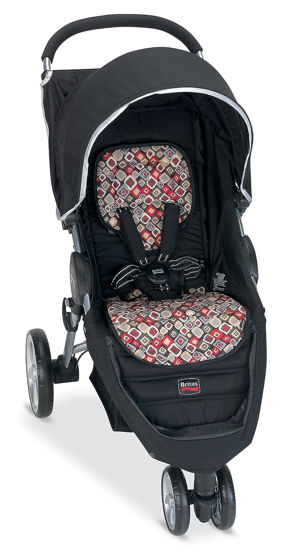 Amazon.com : Britax B-Agile Fashion Stroller Kit, Pink Giraffe ...